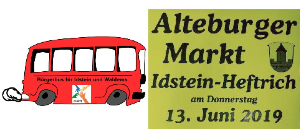 Mit dem Quartier 4-Bürgerbus zum Altburger Markt