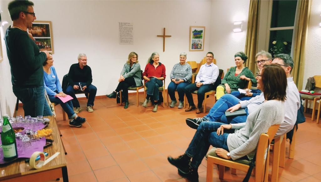 "21.10.2019 Informationsabend zum ""Wohnprojekt Bermbach"""