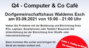 Ehrenamtliche Hilfestellung rund um Tablet, Smartphone, Laptop und PC
