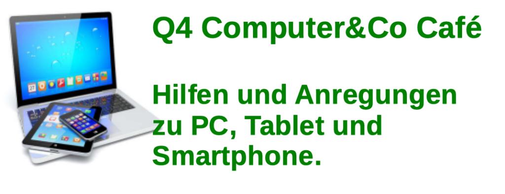 Erstes Computer Café erfolgreich - Am 1.10. nächste Veranstaltung